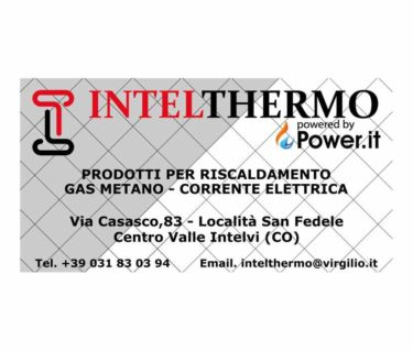 intelthermo srl a San Fedele; forniture gas e luce
