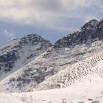 monte generoso in inverno; territorio della Valle Intelvi