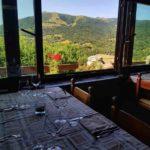 vista taverna due castagni a Blessagno
