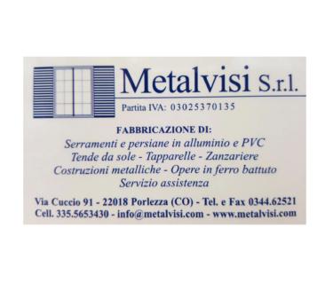 Metalvisi, serramentista valle intelvi